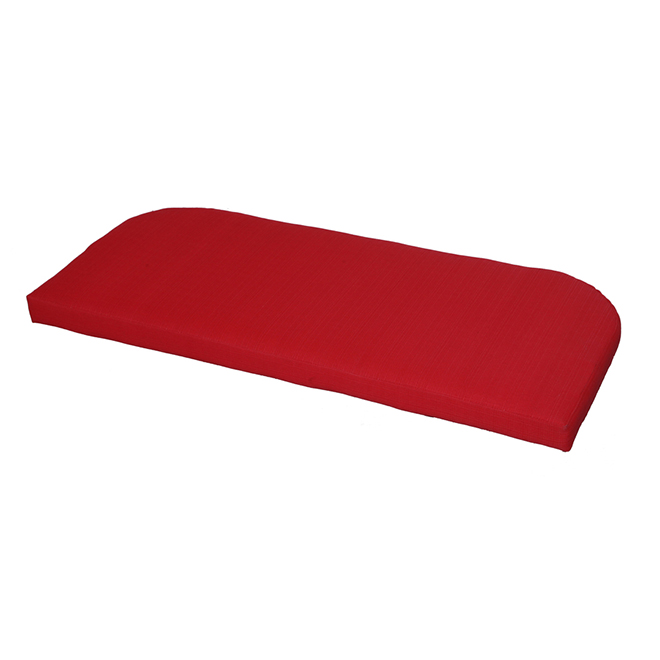 coussin pour canape d exterieur style selections 41 1 4 po rouge