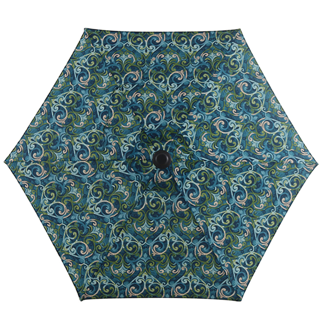 style selections market umbrella 7 5 ft salito marine