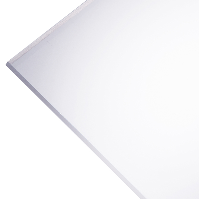 optix 2 5 mm acrylic panel 30 x 36 clear