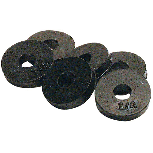 flat faucet washer 1 4 6 pack rubber