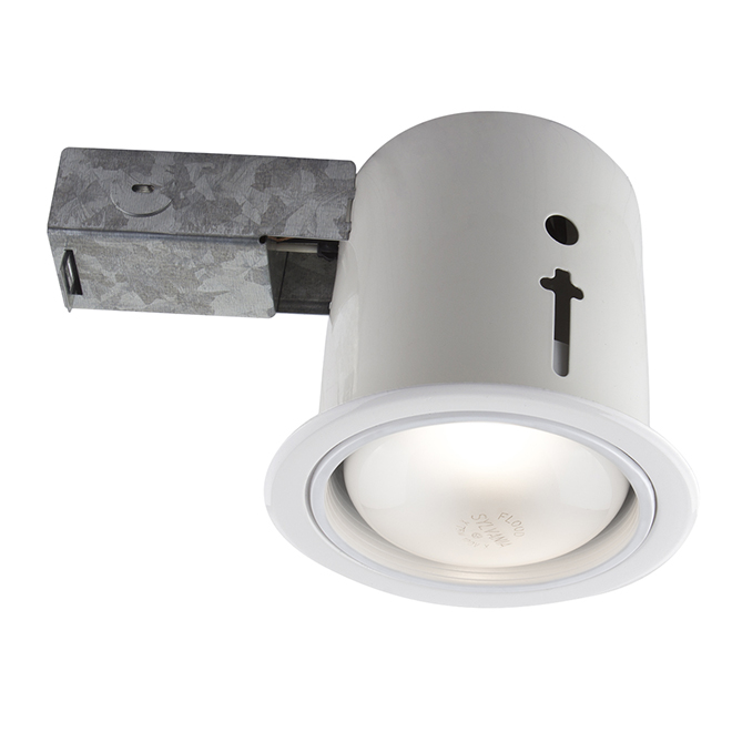 recessed soffit light 75w br30 4 1 2 white