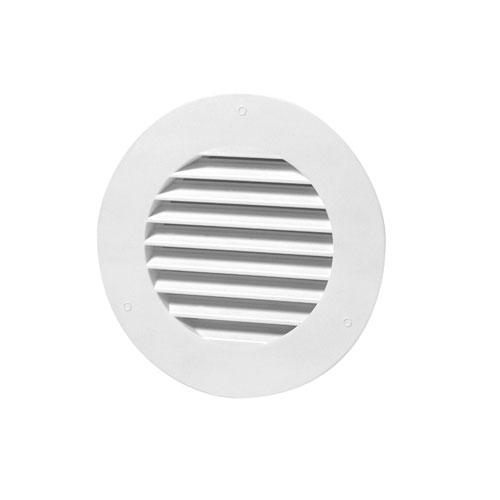 round soffit vent 4 white