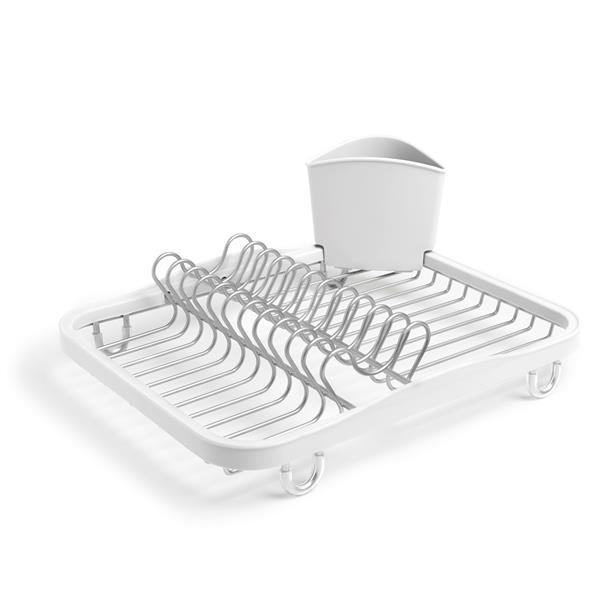 egouttoir a vaisselle sinkin blanc nickel