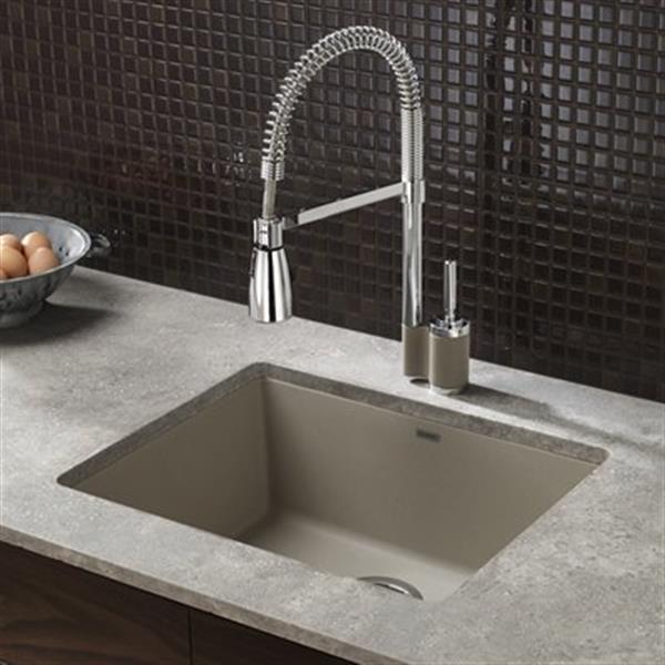 https www rona ca en blanco precis 18 in x 2075 in truffle silgranit undermount sink 401181 330034410