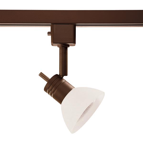 kendal lighting 1 light oil rubbed bronze step linear track lighting head