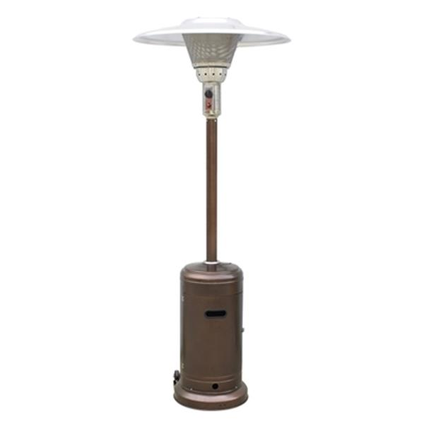 az patio heaters hammered bronze tall commercial patio heater