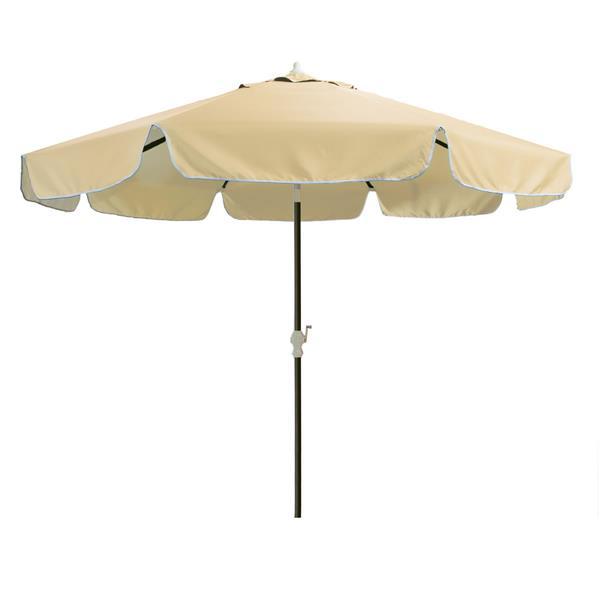 all things cedar patio umbrella tan 10