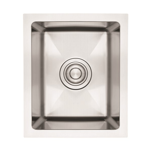 american imaginations undermount sink 12 x 16 stainless steel