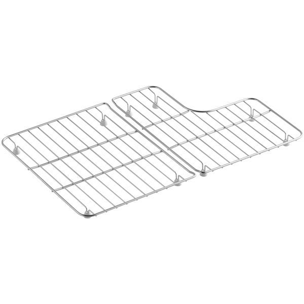 kohler sink rack 22 5 in stainless steel
