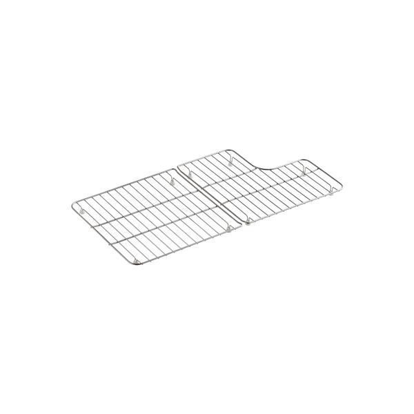 kohler sink rack 29 1 in stainless steel