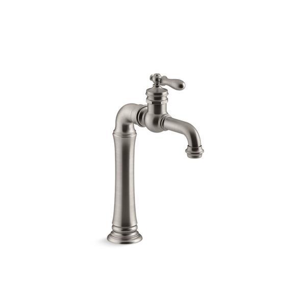 kohler artifacts gentleman s bar sink faucet stainless steel
