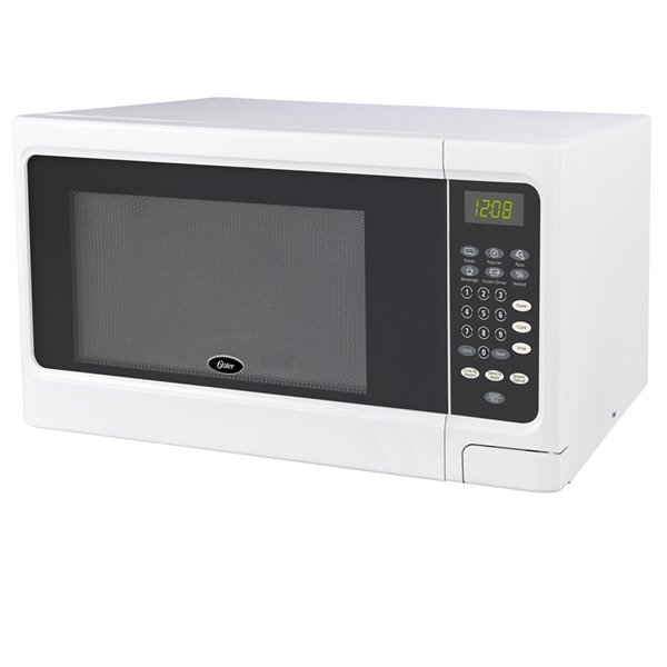 oster microwave white 1 1 cu ft 900 w