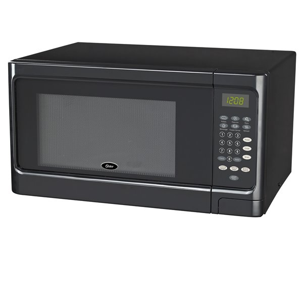 oster microwave black 1 1 cu ft 900 w