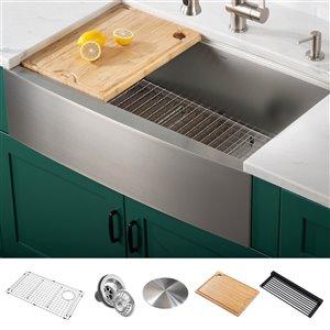 kitchen sinks undermount black