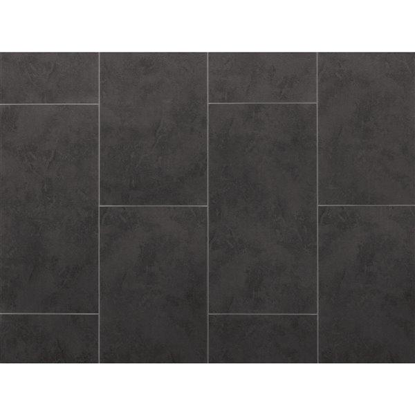 newage products stone composite luxury vinyl tile 9 5 mm 13 44 sq ft slate 7 pk