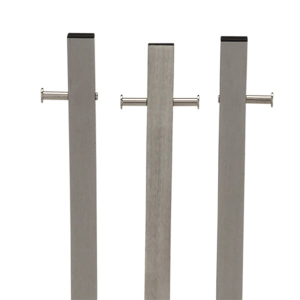 nspire contemporary coat stand 12 hook 71 in brushed nickel