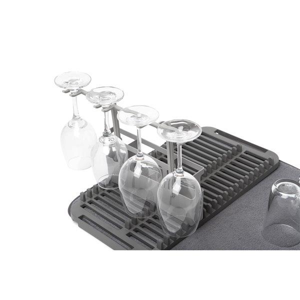 tapis egouttoir a vaisselle udry en microfibre de umbra