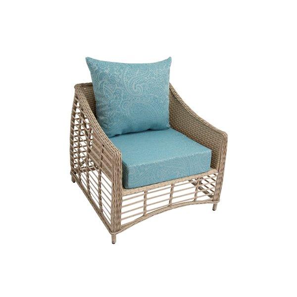 bozanto inc deep seat patio chair cushion blue