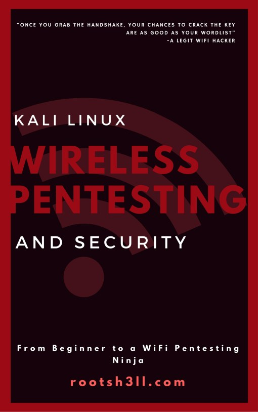 WirelesPentesting and Security Cover