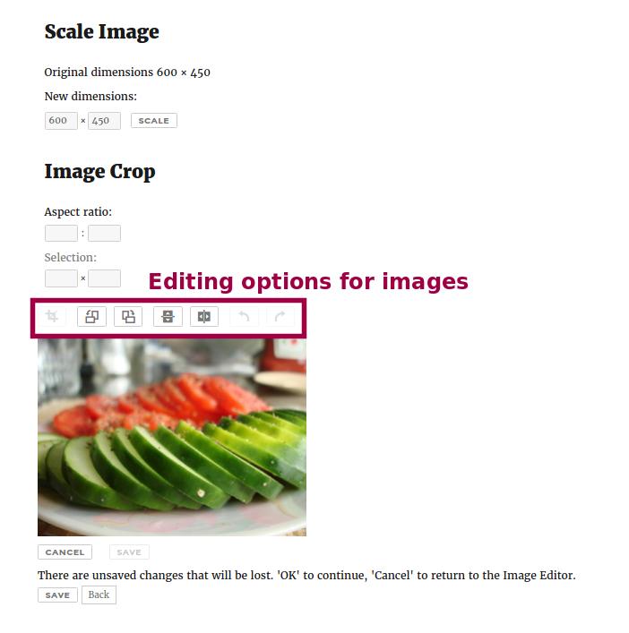 Basic image manipulation