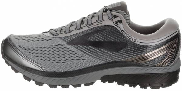 Brooks Men/'s Ghost 10 Running Shoes Ebony//Charcoal//Blue New in the Box