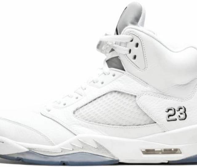 Air Jordan  Retro White Black Metallic Silver