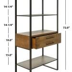 Etg6204b Bookcases Furniture By Safavieh