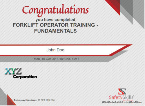 Osha Forklift Training Requirements To Become Safety Compliant