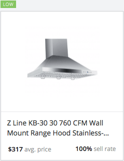 Success rate Range Hood
