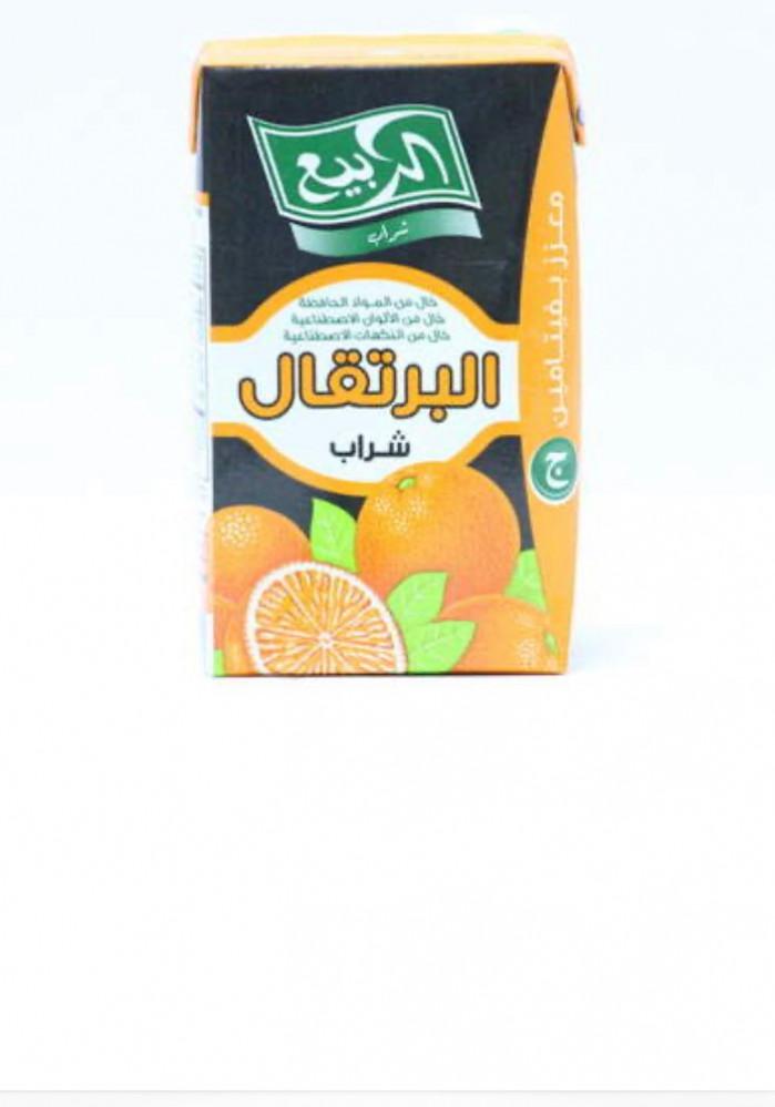 عصير برتقال ربيع