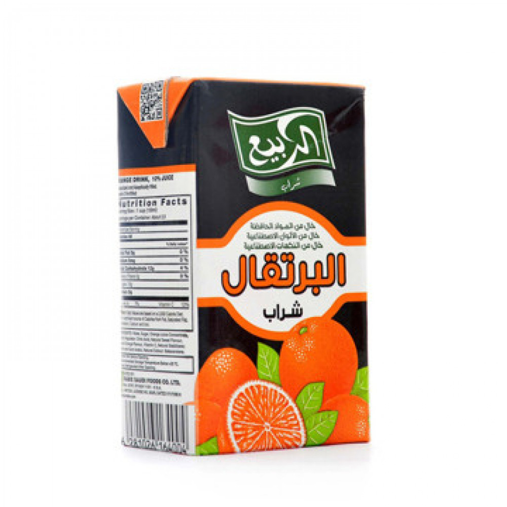 عصير الربيع برتقال 250 مل متاجر الشرق المواد الغذائية