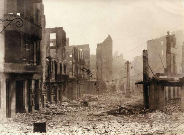 Η Γκουέρνικα μετά τον βομβαρδισμό