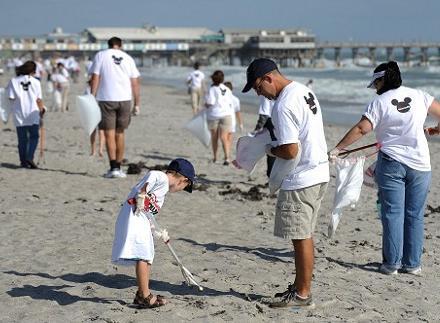 Παγκόσμια Ημέρα Εθελοντικού Καθαρισμού των Ακτών
