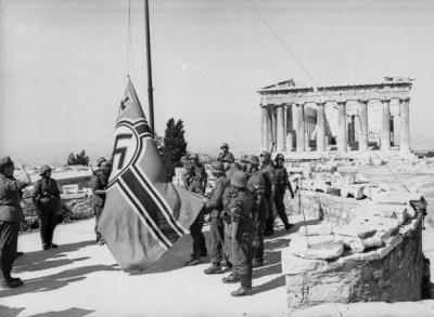 Η εισβολή των Γερμανών στην Αθήνα, και η τελευταία δραματική ραδιοφωνική εκπομπή