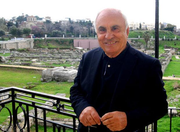 Ο αρχαιολόγος Πέτρος Θέμελης