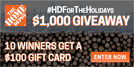 $1,000 Home Depot Giveaway