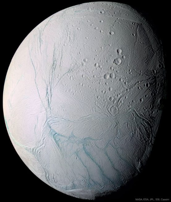 The subterranean ocean of Enceladus has currents, suggests new theories  Planetary science, space exploration