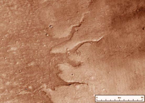 Planetary researchers create map of early Mars river systems  Planetary science, space exploration