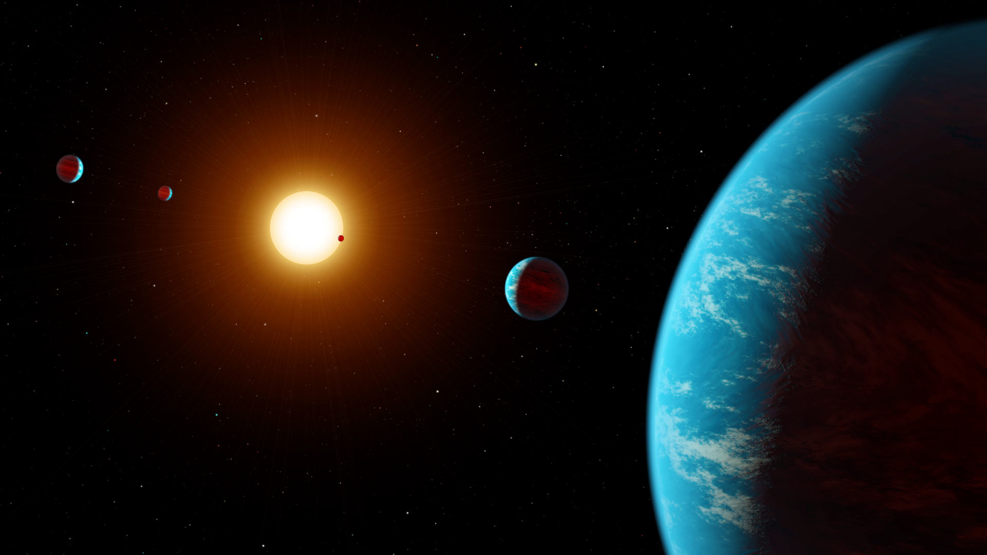 Five Planet System Found K2 138