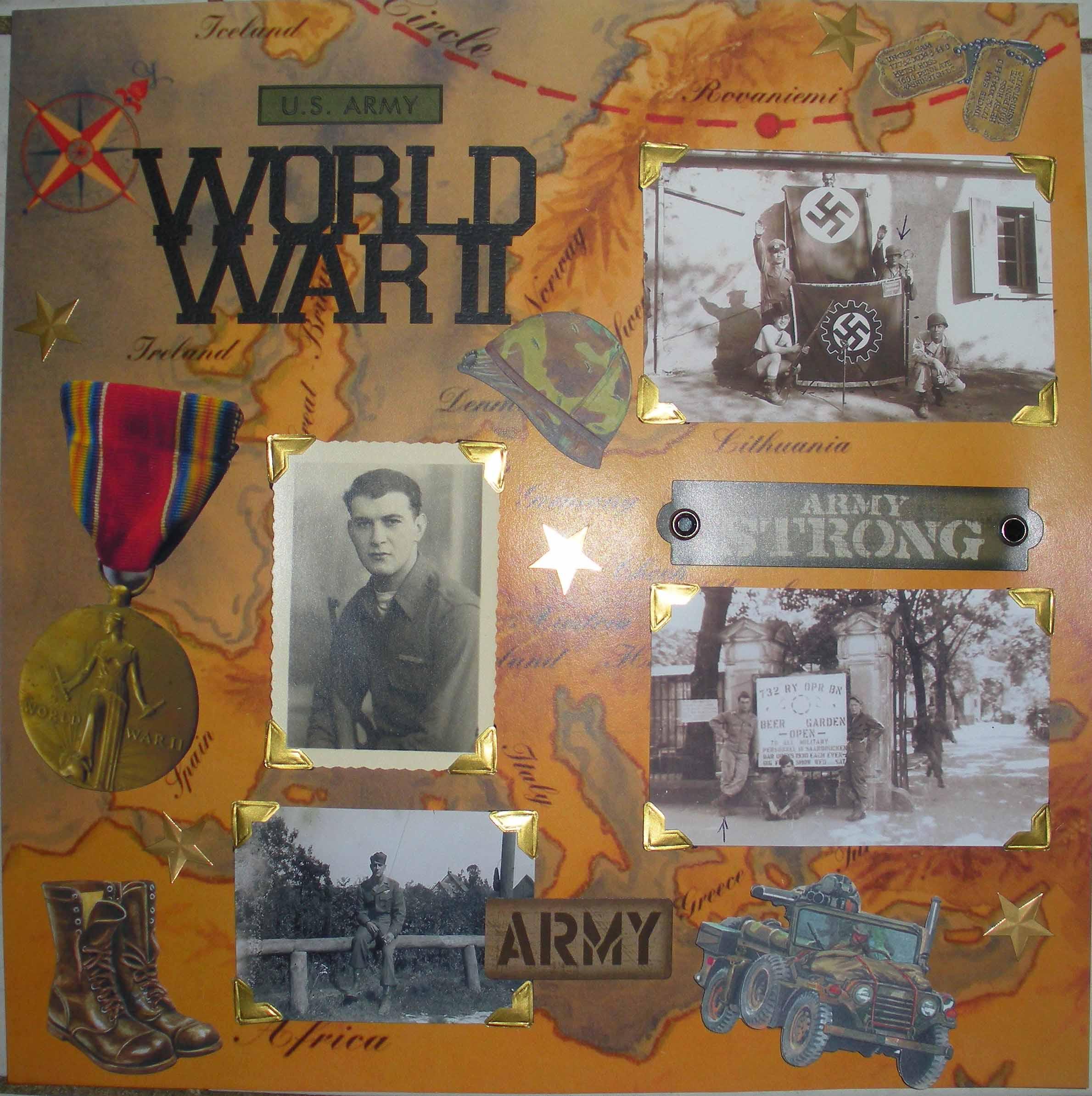 Layout World War 2