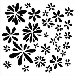 The Crafter's Workshop - 12 x 12 Doodling Templates - Daisy Splash