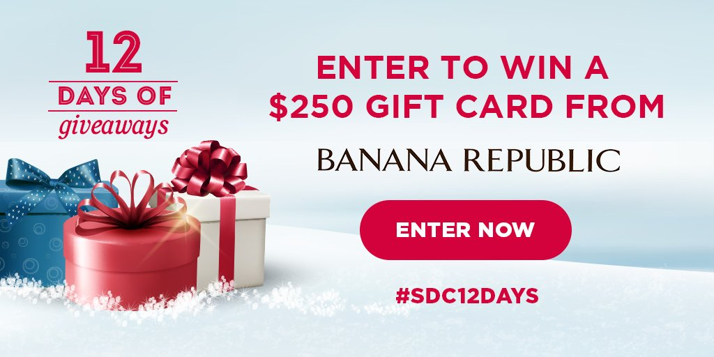 Win a gift card from Banana Republic!