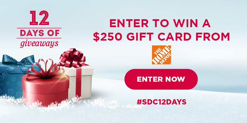 Win a gift card from The Home Depot!