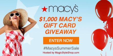 Win a $100 Macy's gift card!