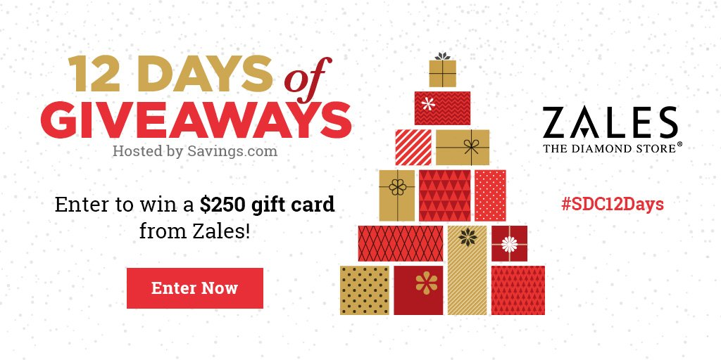 Win a $250 gift card from Zales!