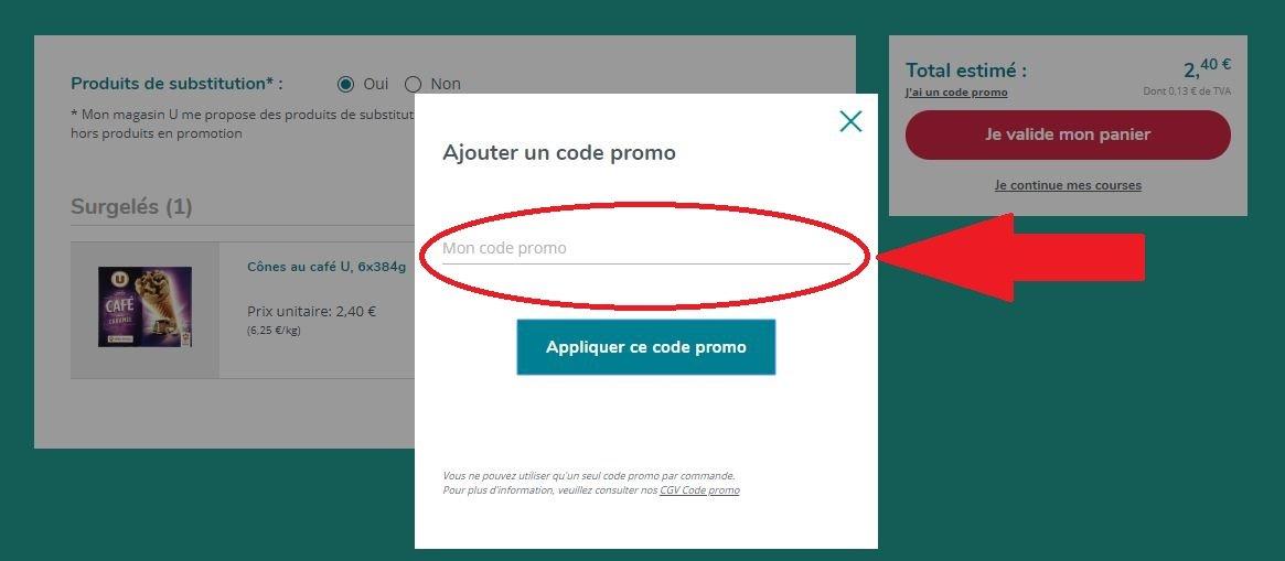 code promo courses u ᐅ 60 de reduction