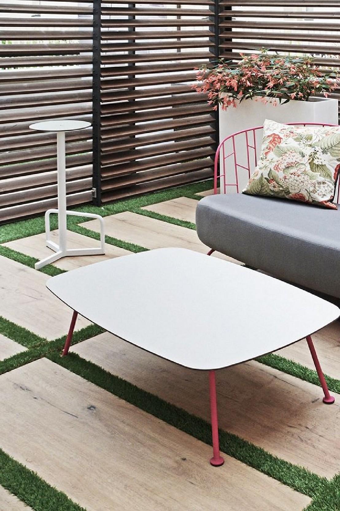 Table De Jardin Rectangulaire Metal - Moston.top