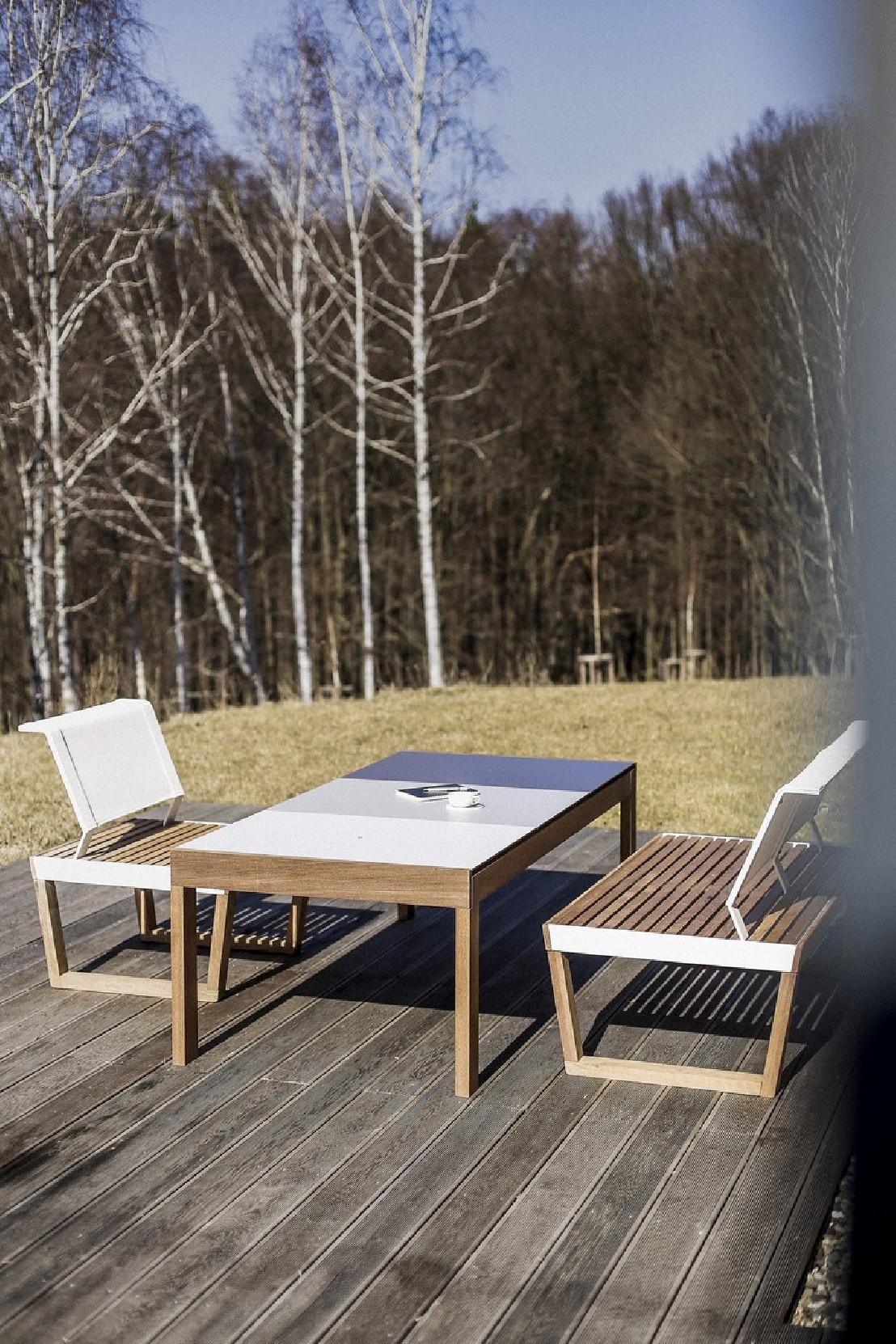 Fauteuil Extrieur De Jardin BARKA Design En Bois Massif