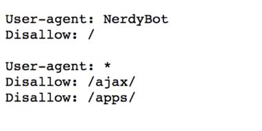 robots.txt blocking java