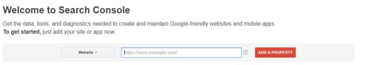 ajouter un site mobile à Google Search Console